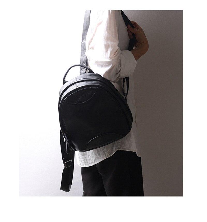 mochila de couro das senhoras de couro