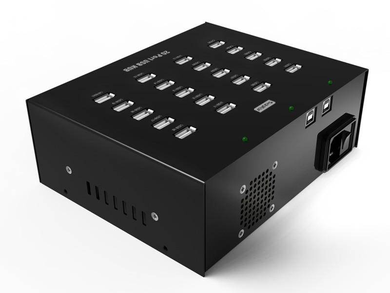 Sipolar High power USB 2.0 HUB 20 ports with LED indicator for Huawei E173 3g Wifi Modem orico usb hub 20 usb ports industrial usb2 0 hub usb splitter with 2 models data transmission ih20p