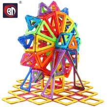 400/252/215/184/164/110pcs Magnetic Designer Construction Set Model Building Toy Mini Plastic Magnetic Blocks Educational Toys цена