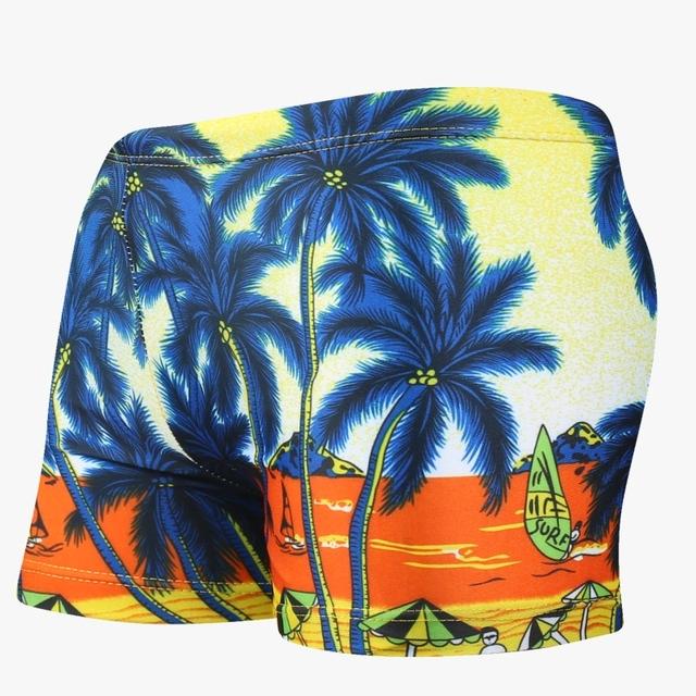 Summer Swim Shorts High Quality Boys Swimwear Swimming Trunks Beach Wear Children Diving Swimwear Kids Boxer Shorts