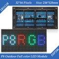 P8 Открытый RGB Полноцветный СВЕТОДИОДНЫЙ Дисплей Модуль С DIP246 LED 1R1G1B 256*128 мм 32*16 пикселей для Высокий Ясный Большой Экран
