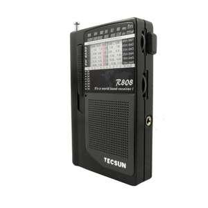 Image 3 - TECSUN R 808 راديو محمول FM/MW/SW كامل الفرقة مكبر صوت صغير راديو الرجعية FM:87 108 MHz/MW:525 1610kHz/SW1 6: راديو 5.80 18.12MHz