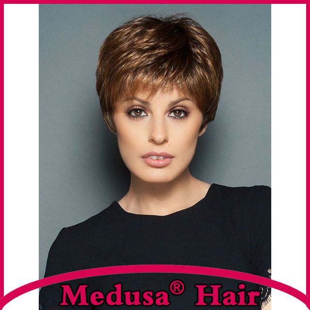 Medusa hair products synthetic wigs for women short pixie cut medusa hair products synthetic wigs for women short pixie cut styles straight mix color wig pmusecretfo Gallery