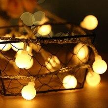 NEW 2M 5M 10M USB 5V Globe Ball LED string lights Christmas holiday wedding party festival decoration Garland Fairy lights цена и фото