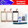 Leagoo Z1 Digitizer Touch Screen 100% Guarantee Original Glass Panel Touch Screen Digitizer For Z1 +tools+ Adhesive