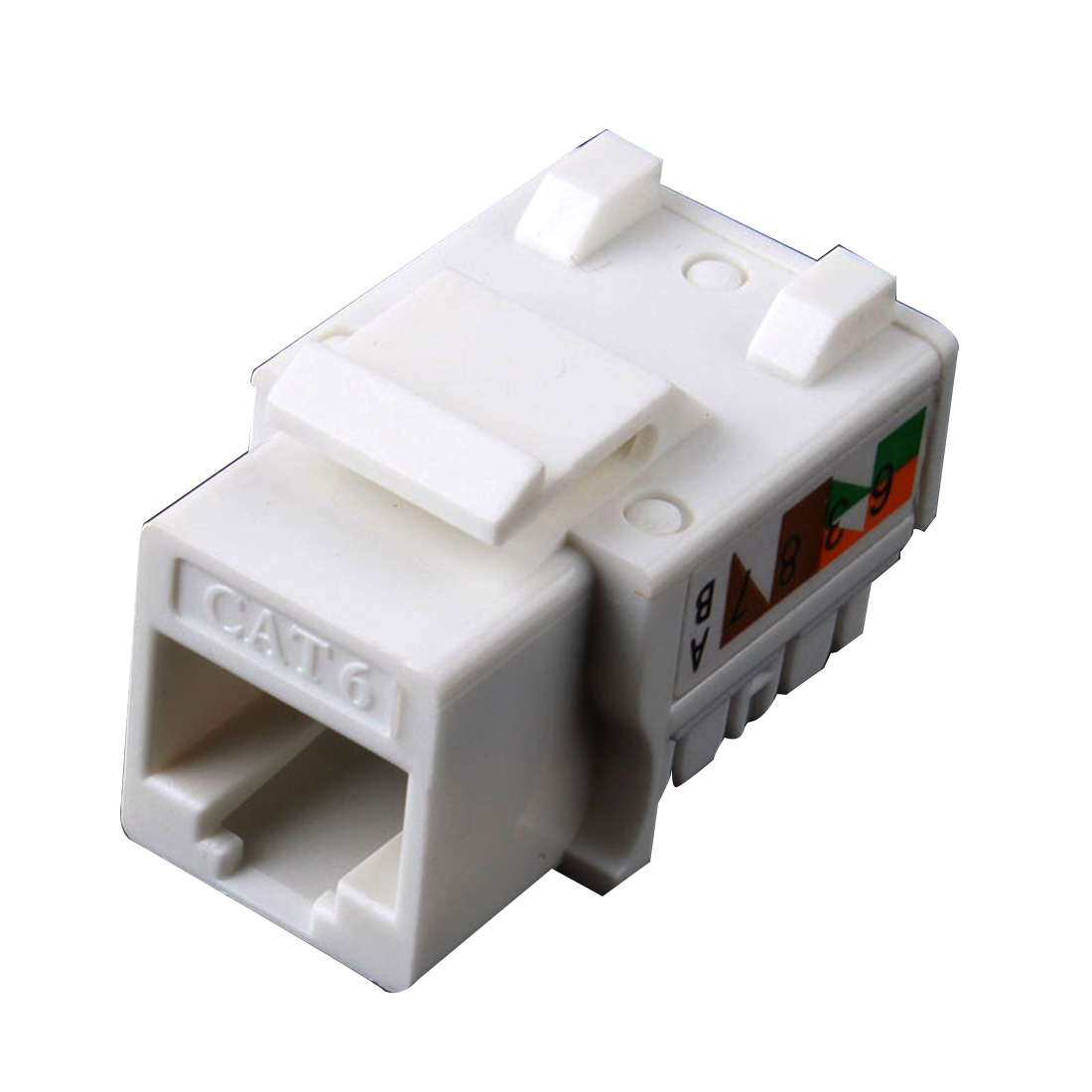 Marsnaska 5Pcs/lot CAT6 RJ45 110 Punch Down Keystone Network ...