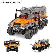 XingBao 03027 Car Series The All Terrain Vehicle Building Blocks Model With Figures Toys LegoINGLYs Technic Figures Boys Gift(China)