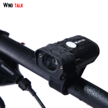 Wind Talk Bicycle Light  USB Charging 5 Modes 350 Lumen Led Bike Light Flashlight Front Bike Cycling Lights