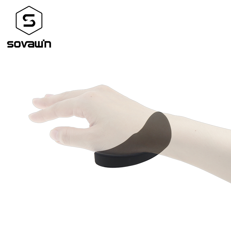Sovawin Silicone Wrist Rest Vertical Mouse Pad Gamer Comfort Mousepad Comfortable Ergonomic Silica Gel Game Office Mat For Pc