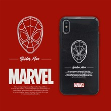 Marvel Hero Spider Man Luxury Phone Case Soft Cover For iPhone 6 6s 7 8 Plus X XS XR XSMax shimmering