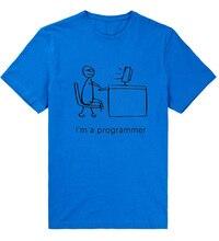 """""""I'm a programmer"""" men's t-shirt"""