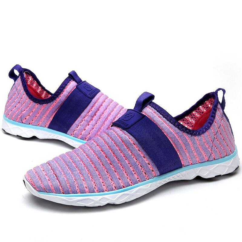Plus size 36 47 donne runningg scarpe femminili slip on scarpe da trekking  outdoor signore formazione sneakers zapatillas deportivas in Plus size 36-47  ... 6535f1fcbe3