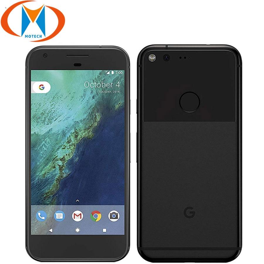 "EU バージョン Google ピクセル 5 ""ブランド新 4 ギガバイトの RAM 32 ギガバイト/128 ギガバイト ROM 携帯電話の Nfc クアッドコア指紋 4 4G LTE スマートフォン  グループ上の 携帯電話 & 電気通信 からの 携帯電話 の中 1"
