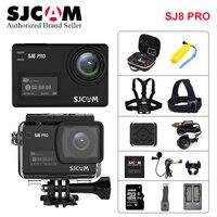 Подлинная SJCAM SJ8 Pro Экшн камера 1290 P 4k WiFi водонепроницаемый пульт дистанционного управления камерой Ambarella Anti Shake двойной сенсорный экран Спорт
