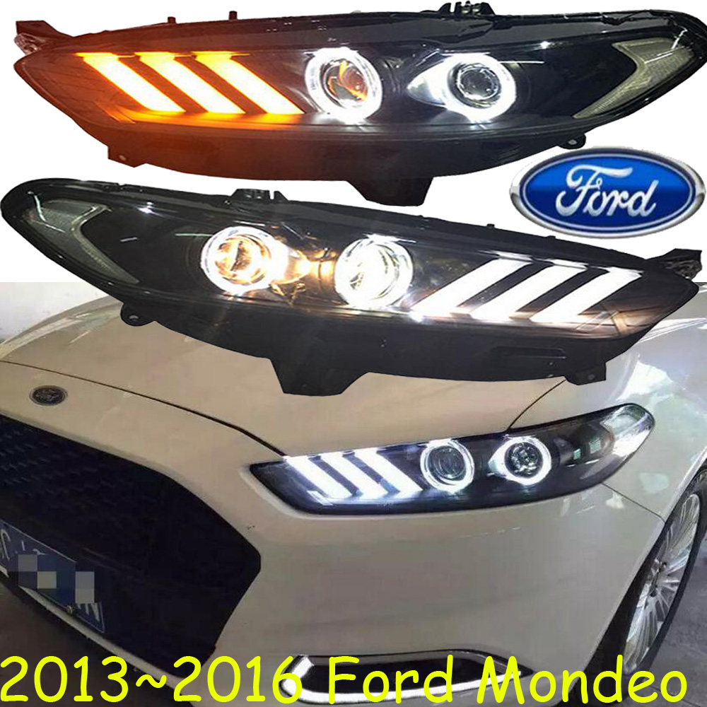 Monde headlight,2013~2016,Fit for LHD,RHD need add 300USD),Free ship!Monde fog light,Ecosport;KUGA,Monde mitsubish grandis headlight 2008 fit for lhd