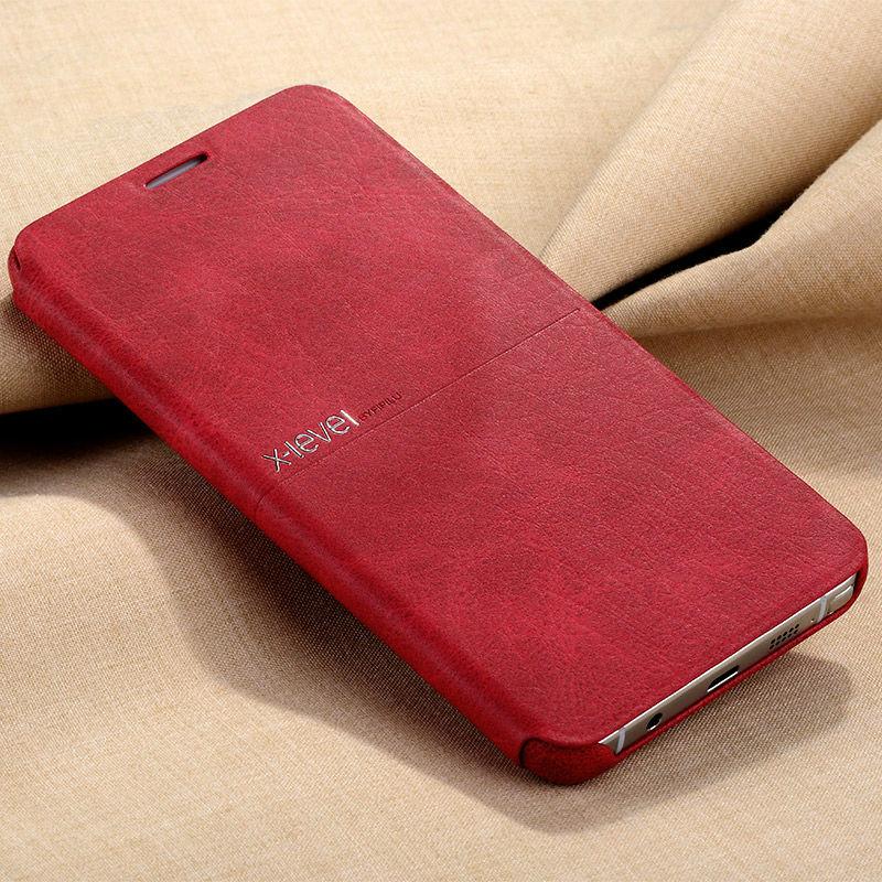 imágenes para X-Nivel Extremo Tirón de la Cubierta de Protección Completa Para Samsung Note5 de Caso Clásico de Cuero Para Samsung Galaxy Note 5