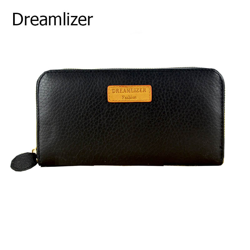 Real Genuine Leather Wallet Long Brand Design Leather Female Hand Clutch Purse Zipper Around Coin Purse for Iphone 7 браслет hand around hand around ha021dmzgk43