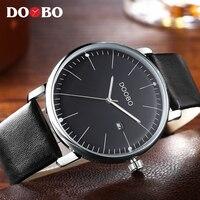 Sport Watches Men Waterproof Leather Band Quartz Wrist Wristwatch Military Clock Male Relogio Masculino Ceasuri Hodinky
