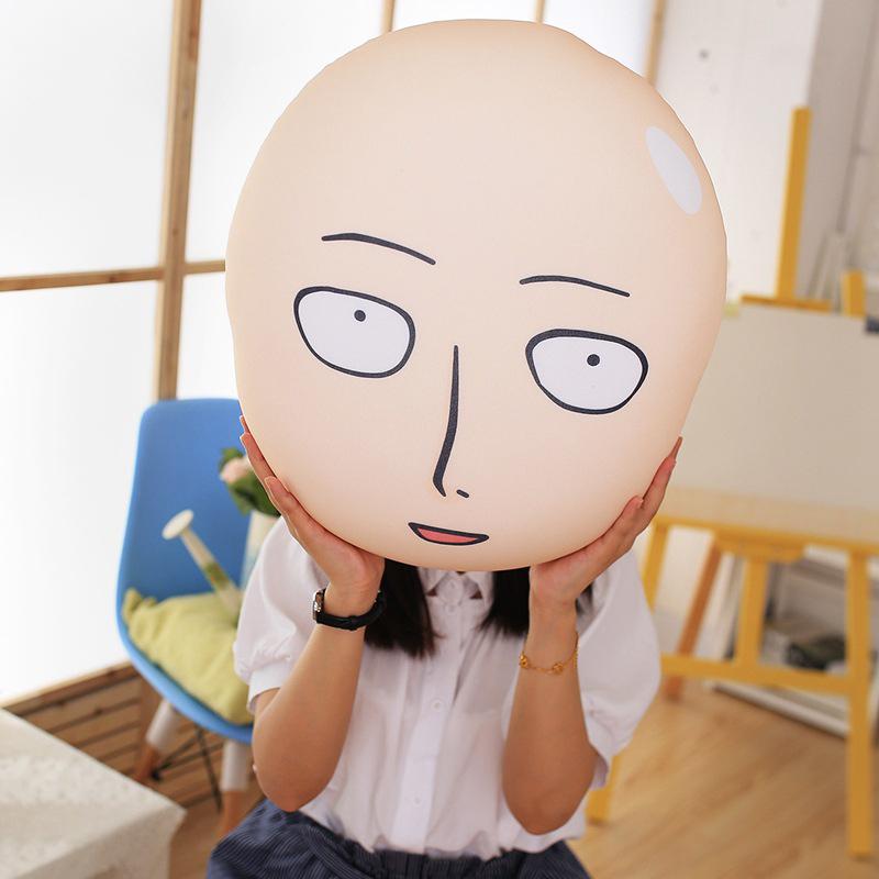 One Punch Man Pillow Head Plush Cushion