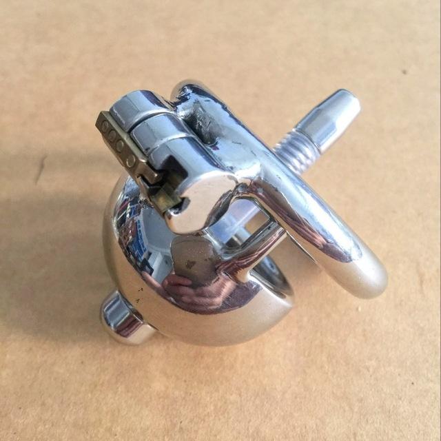 Masculino dispositivo de castidade CB com cateter chastity uretral cateter penis bloqueio anel de pénis de metal em aço inoxidável cinto de castidade homens