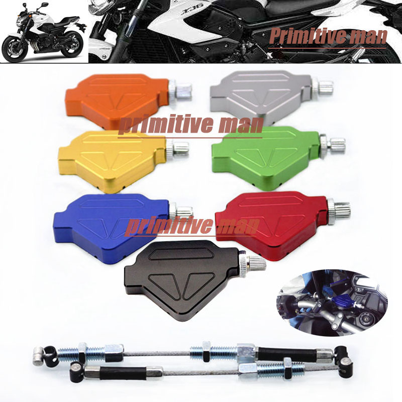 For YAMAHA XJ6 /Diversion/ F 2009-2013 10 11 12 Motorcycle CNC Aluminum Stunt Clutch Easy Pull Cable System 7 colors
