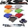 Para yamaha xj6/desvio/f 2009-2013 10 11 12 da motocicleta cnc alumínio dublê embreagem fácil puxar cabo sistema de 7 cores