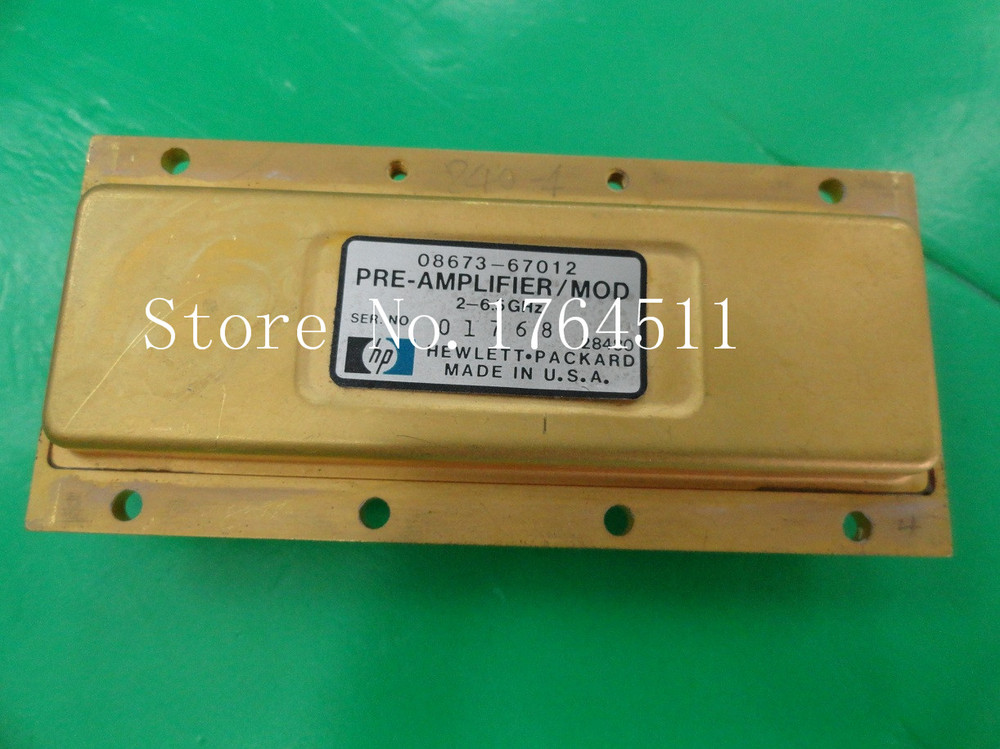 [BELLA] Original 08673-67012 / 2-6.5GHZ Modulator Amplifier