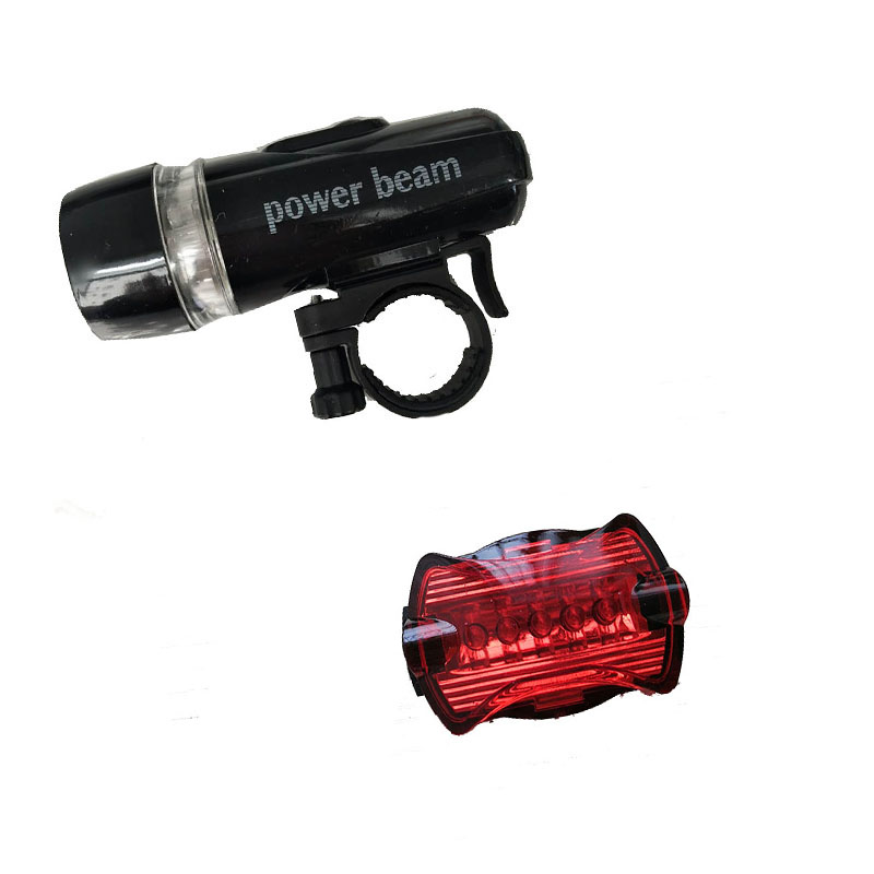 Bright Bike Headlight &Taillight Set Bicycle Lights New Bike Front Lamp Cycling Light MTB Bicycle Rear Lights Cycling Flashlight