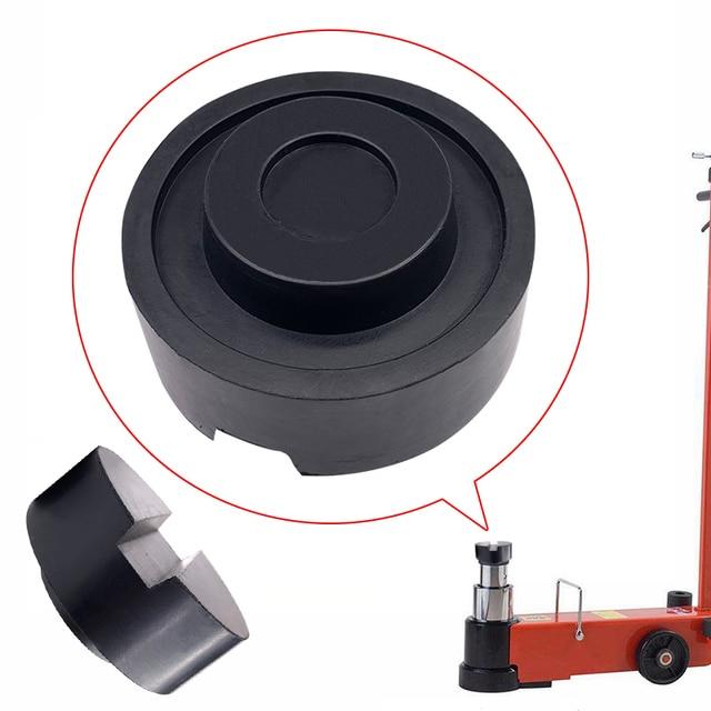 Cao Su màu đen Rãnh Jack Sàn Pad Khung Đường Sắt Adapter Cho Pinch Hàn Bên Pad