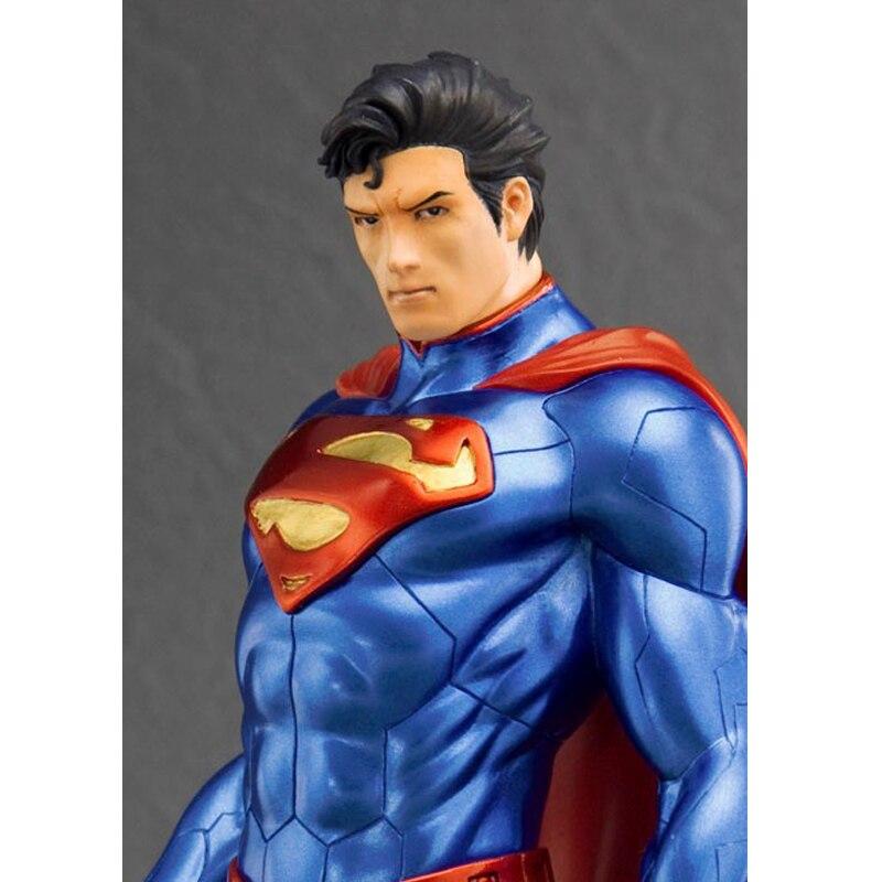 ARTFX + STATUE DC Super Hero Superman Action Figure Collectible Model Toy 20cm dc comics super heroes superman pvc action figure collectible model toy gift for children 7 18cm free shipping