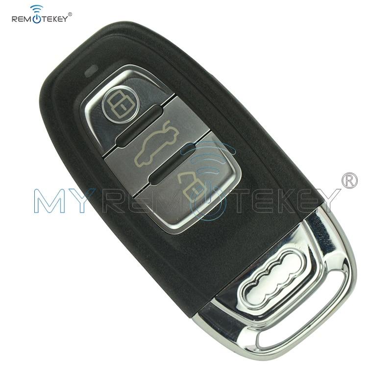 Remtekey Smart car remote Key for Audi A4 A5 A6 S4 S5 Q5 SQ5 8T0 959 754C 868Mhz 8T0959754C 2007 2008 2009 2010 2011 2012 2013