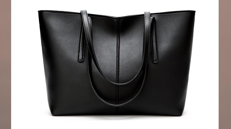 grande capacidade escritório sacos ombro feminino novo c826