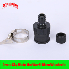 1pc garden irrigation 1/2 3/4 faucet hose pipe adapter fast connection universal water connector