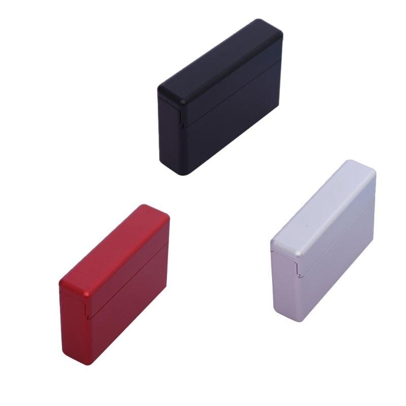 Najnowszy 1 sztuk 18 otwory rękaw ochronny ze stopu aluminium ze stopu aluminium metalowa papierośnica uchwyt na pudełko do przechowywania dla IQOS akcesoria