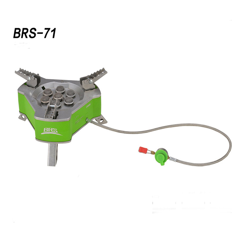 BRS-71 Portable Outdoor Camping Gas Stove Butagas LPG Gas Picnic Cooking 9800W Picnic Butane Gas Burner WindproofBRS-71 Portable Outdoor Camping Gas Stove Butagas LPG Gas Picnic Cooking 9800W Picnic Butane Gas Burner Windproof
