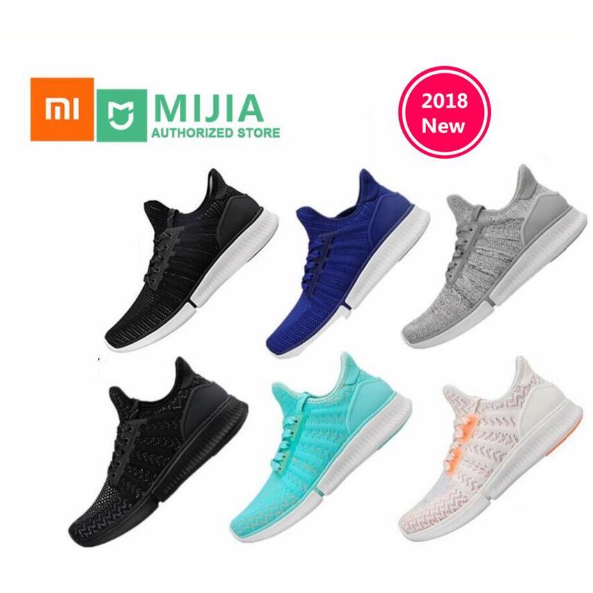 2018 Original Xiaomi Mijia chaussures de sport Sneaker haute qualité mode professionnelle IP67 étanche pas de puce intelligente