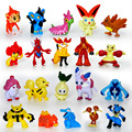 144pcs 3cm Pokeball Toys Mini Cartoon Action &Toys Figure Pikachu  Brinquedos Random 144 Different  Figure