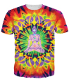 Innervision T-Shirt psychedelic t shirt Summer Style tops Women Men Colorful Beautiful tees Plus Size