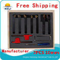 Turning Tools cutting Tool Factory  Lathe cutting tool set, cutter set,  turning tool set 10mm 7pcs