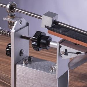 Image 3 - НОВЕЙШАЯ портативная система для заточки ножей KME с вращением на 360 градусов, 3 точильных камня (120 #,600 #,1500 #)
