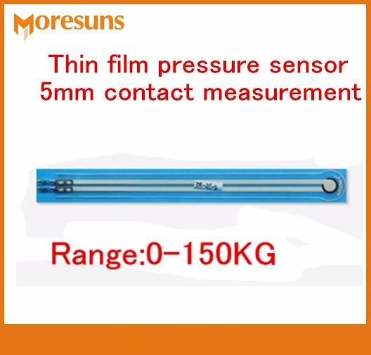 Fast Free Ship Newest 2pcs/lot 0-150KG Thin Film Pressure Sensor 5mm Contact Measurement Weighing Sensor