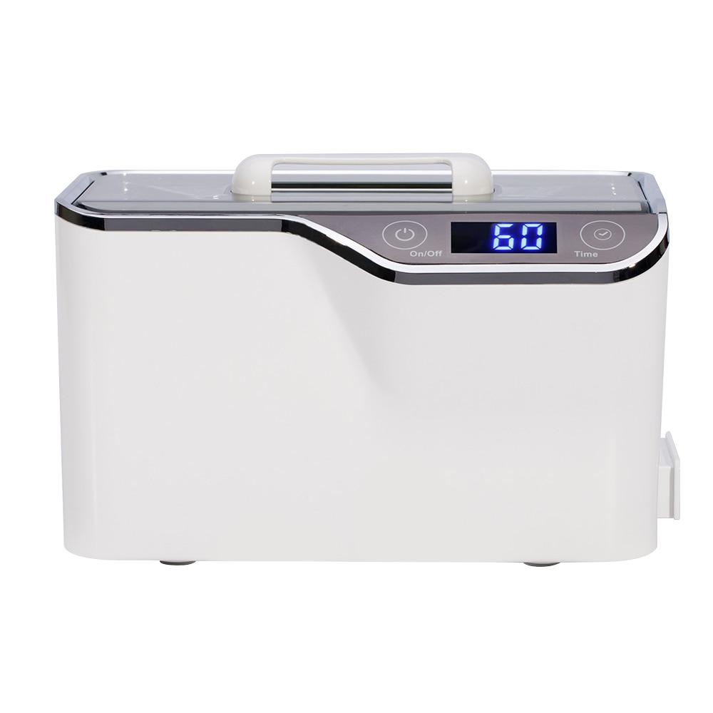 все цены на 600ml 50W Intelligent Ultrasonic Cleaner Cleaning Machine For Jewelry Glasses 42000Hz LED Digital Wave Ultrasonic Cleaner Device онлайн