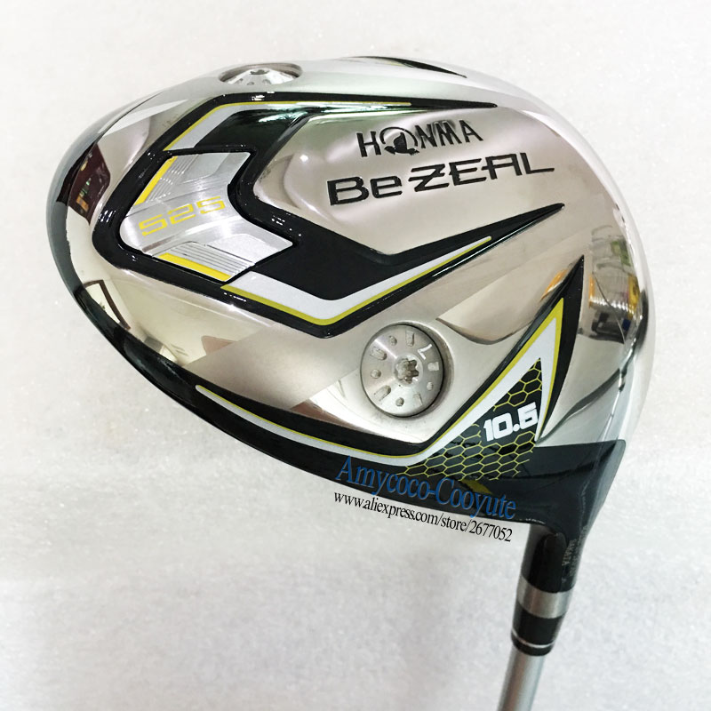 New Golf Clubs HONMA BEZEAL 525 Golf driver 9.5 or 10.5 loft HONMA Clubs driver Graphite shaft R or S Golf shaft Free shipping new golf clubs honma s 03 4 star golf driver 9 5 10 5 loft golf graphite shafts