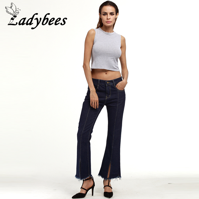 LADYBEES Women Jeans Flare Plus size XXXXXL Flare Pants 5XL 4XL Long Denim Trousers Large Size 2017 New Fashion clothing Skinny