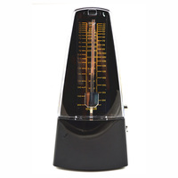 Homeland Mechanical Metronome Pyramid Traditional Piano Metronome With Bell Plastic 5 Colors Optional Musical Accessories