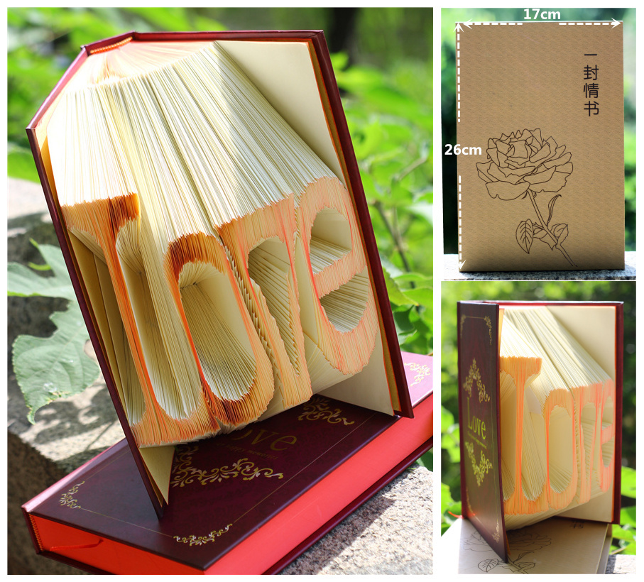Wedding Favors And Gifts Love Book Folding Handicraft Creative Confession Of Originality Manual On Aliexpress Alibaba