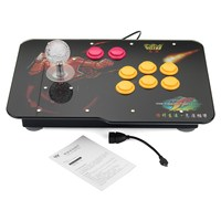Arcade Stick Video Game With LED Light USB Joystick Controller Rocker For PC Phone Game Controller