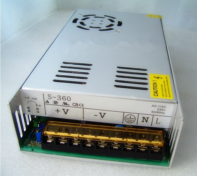 100V~240V to 12V/15V/24V/48V/50V  Adjustable Switching Power Supply, DC  power adapter ,Monitor power supply runco v 50hd