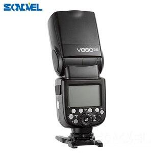 Image 2 - Godox V860II C/N/S/F/O פלאש 2.4G 1/8000 s 2000 mAh Li  על סוללה אלחוטי פלאש אור עבור Sony Canon ניקון אולימפוס Fujifilm