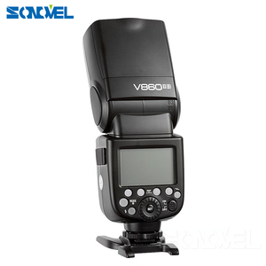Image 2 - Godox  V860II C/N/S/F/O Flash 2.4G 1/8000s  2000mAh Li on Battery Wireless Flash light For Sony Canon Nikon Olympus Fujifilm